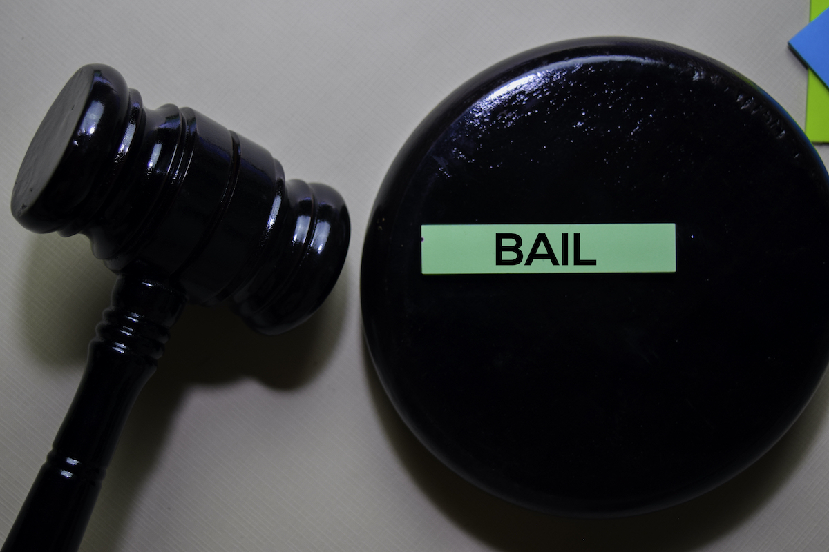 Gavel part of the bail bonding process in Gwinnett County, GA